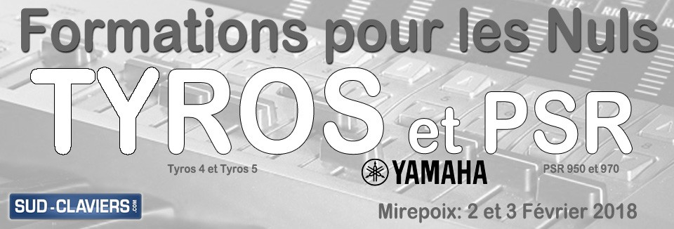 Formations Tyros